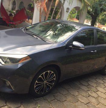 Toyota Corolla 2015 ubicado en Nicaragua SE VENDE TOYOTA COROLLA 2015 Único dueño 27000km Timón Hidráulico Cierre Central