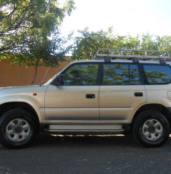 Toyota Prado 2002 usado ubicado en Managua Vendo amioneta Land Cruiser Prado, Motor 3L en excelente estado, llantas nuevas, batería nueva, con todos sus mantenimientos según manual de mantenimiento.