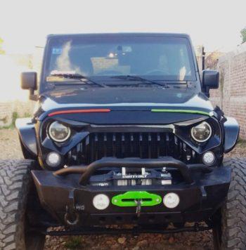 Jeep Wrangler 2016 usado ubicado en Estelí JEEP WRANGLER 2016 UNLIMITED SPORT COLOR NEGRO 4X4--4WD CUATRO PUERTAS