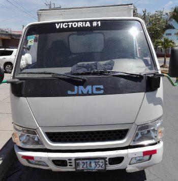 Camión JMC 2014 usado ubicado en Estelí, Nicaragua CAMION MARCA: JMC AÑO:2014 COLOR: BLANCO CELULAR: 5804-5716